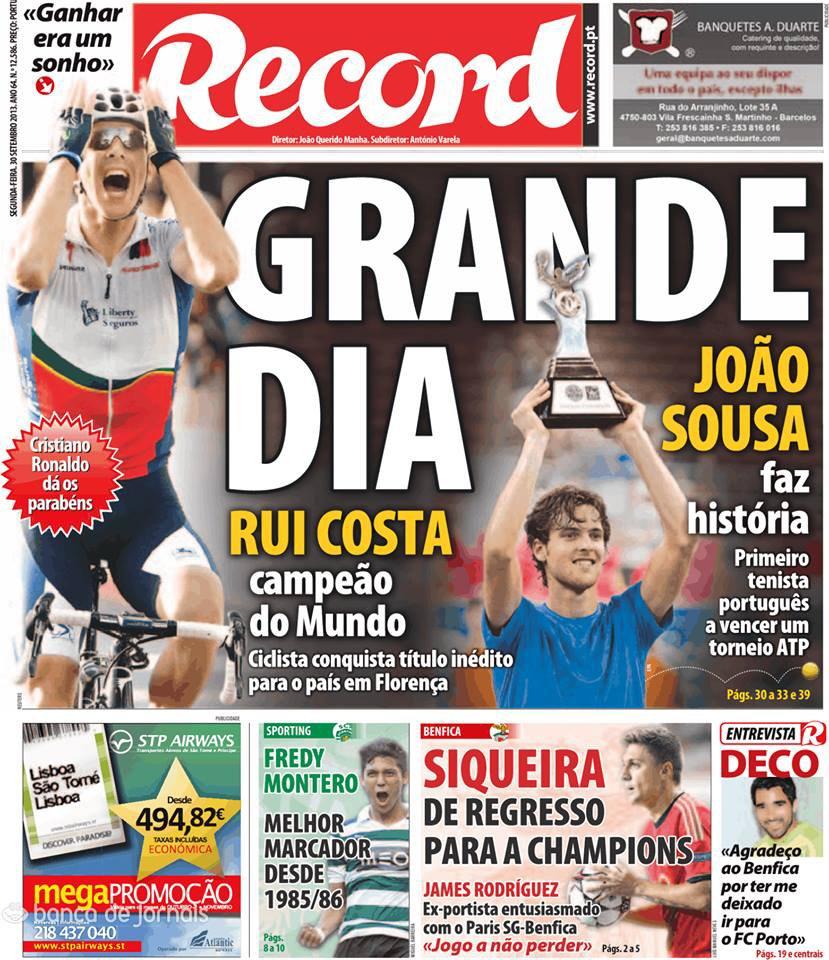 Hier c'était le grand jour du portugal