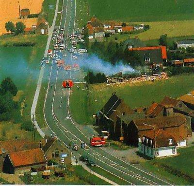 06-07-1989 - Accident avion sans pilote - Belgique - entre Courtrai...