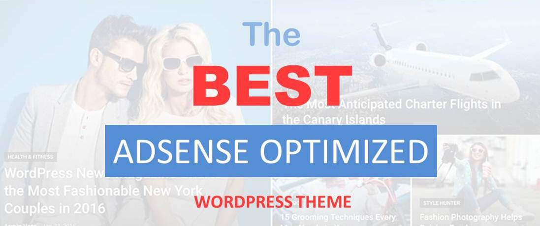 The Best Google Adsense Optimized WordPress Theme