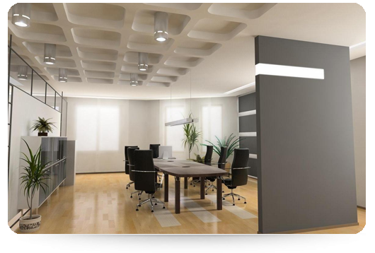 Office Interior Design and Ceiling Installation: Time for your office makeover with office partition walls Sydney