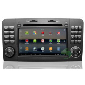 Android 4.0 Auto DVD Player GPS Navigationssystem für Mercedes-Benz ML Klasse W164(2005-2012)(ML300 ML350)