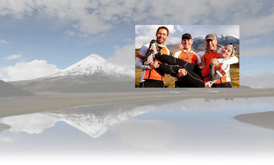 Tours to Ecuador, specialized in Climbing, Hiking, Trekking, Horseback riding & Galapagos Islands