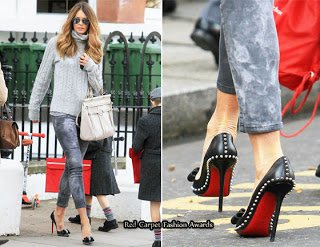size 40 7063f 5bf37 Fashion Christian Louboutin Spiked Black Pumps Pointed Toe ...