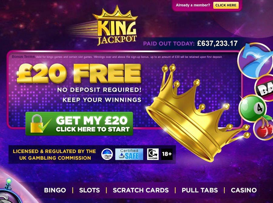 Play Best Online Bingo Bingo at King Jackpot