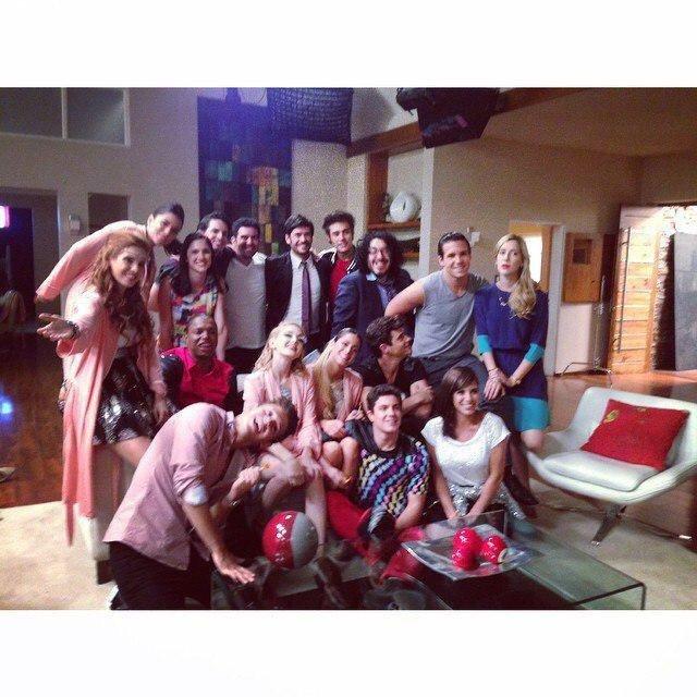 Tournage Violetta 3 !!!!!
