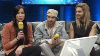 DSDS - Video-Chat mit Bill und Tom Kaulitz vom 15.03.13