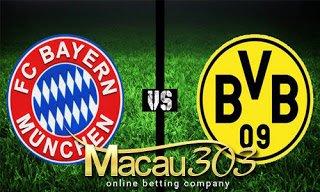 IDN SPORTSBOOK MACAU303: Prediksi Judi Bola Bayern Munchen vs Dortmund 27 April 2017
