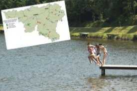 Qualité des eaux de baignade : la Belgique reste dans le fond de classe