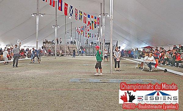 Dylan ROCHER en repêchage au tir ! - Championnats du Monde de pétanque - ARTICLES sur la pétanque