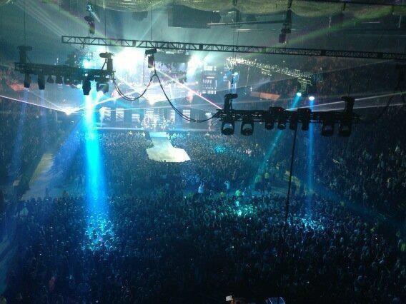 02/03/2013 Justin sur scène à Nottingham <3