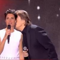Quand Alessandra Sublet met - involontairement - un énorme vent en direct à Serge Lama - Regardez