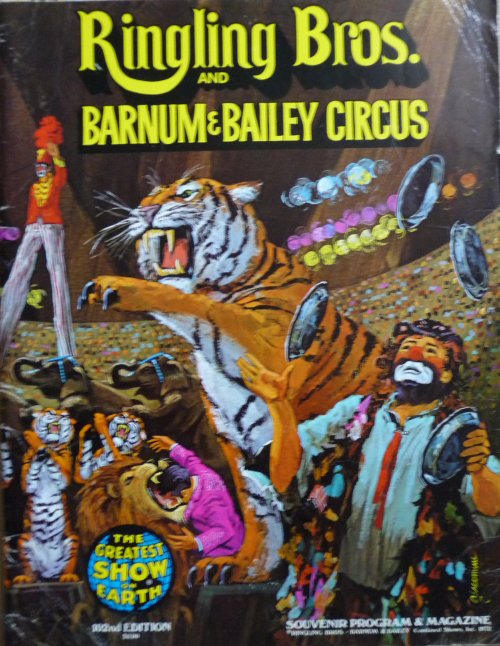 Programme RINGLING BROS AND BARNUM & BAILEY CIRCUS 102nd Edition 1972 - 1