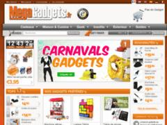 Megagadgets : Large choix de cadeaux originaux et innovants