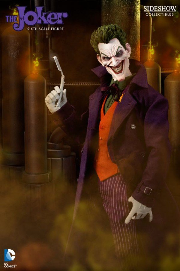 Sideshow Collectibles 1/6th Scale Joker Action Figure Now Available For Preorder
