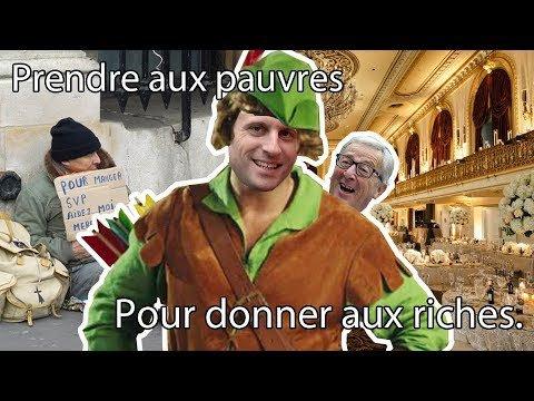 Pourquoi Macron prend aux pauvres pour donner aux riches ? - YouTube