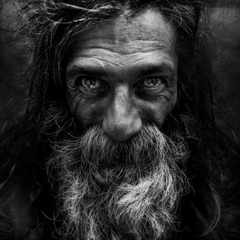 Des portraits de sdf ...les portraits de l'Âme.; de Lee Jeffries !