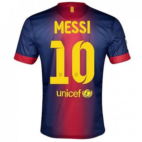 20122013 De Fc Futbol Del Ni Barata Barcelona o Messi Camisetas tsdQChr