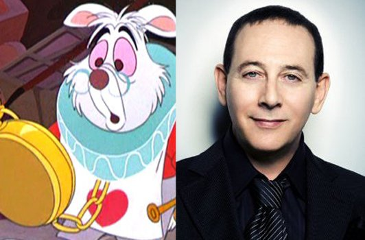 Once Upon a Time in Wonderland : le lapin blanc aura la voix de Paul Reubens