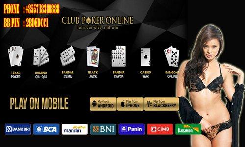 Situs Judi Poker Domino Online Uang Asli Terpercaya