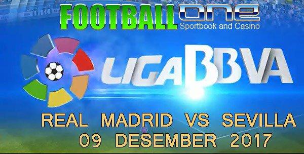 Prediksi REAL MADRID vs SEVILLA 09 Desember 2017