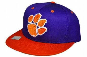 Casquette Neuve Ajustable Officielle NCAA - UNIVERSITE DE CLEMSON TIGERS Snapback - Visiere Plate - Violette/Orange: Amazon.fr: Bienvenue