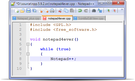 Notepad++ Home