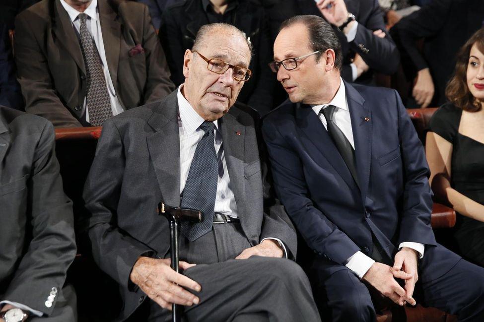 Line Renaud - Remise du prix de la Fondation Jacques Chirac
