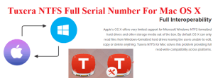 Tuxera NTFS 2016.1 Serial Number Crack For Mac OS Sierra Full Download