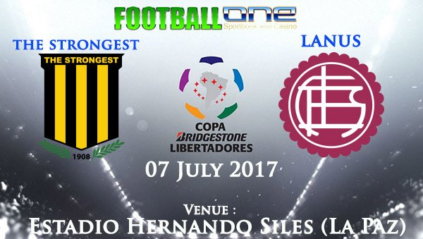 Prediksi THE STRONGEST vs LANUS 07 July 2017
