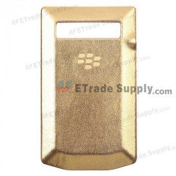 BlackBerry Porsche Design P'9981 Battery Door - Gold