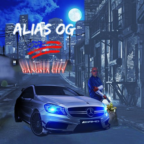 Alias OG feat 24K and Baldhead Goldteeth [Miami Boyz] - Gangsta City