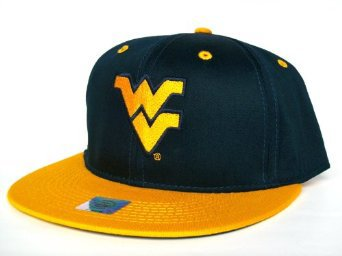 Casquette Neuve Ajustable Officielle NCAA - West Virginia Snapback - Casquette Bleue Marine/Or: Amazon.fr: Bienvenue