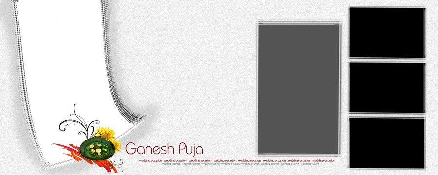 Free Download Wedding PSD Ganesh Puja PSD Image File