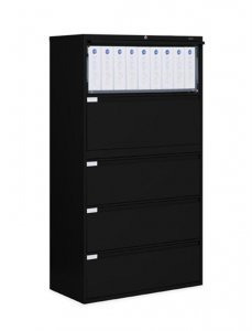 "Global 9300 Plus Lateral Filing 5 Drawer Lateral 42"" - FREE SHIPPING!!!!"