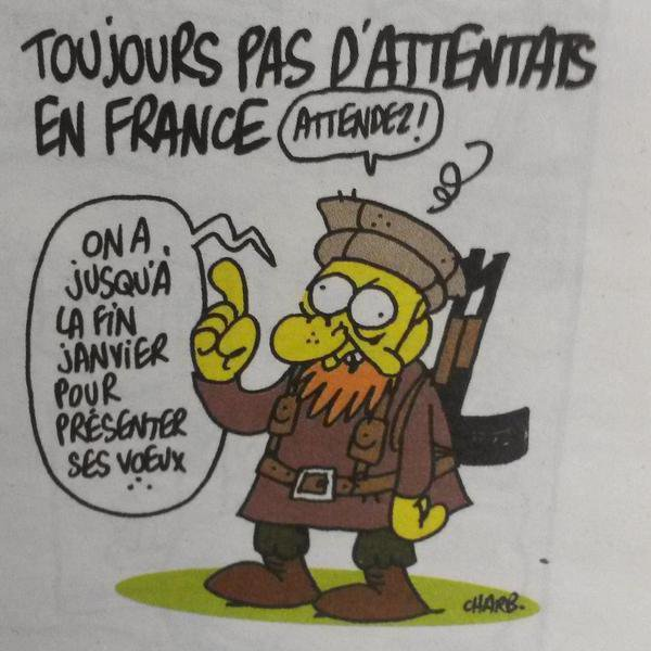 Attentat islamiste de Paris : les dessinateurs Cabu, Charb, Tignous et Wolinski assassinés par des islamistes - Last night in Orient