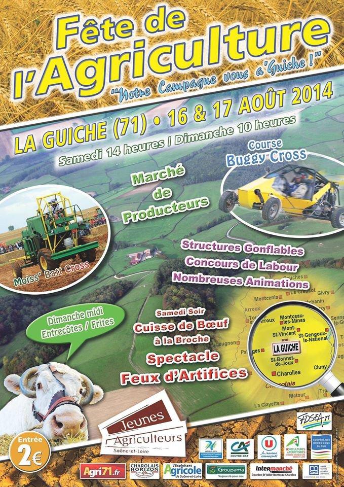 Notre Campagne vous a'Guiche (Fête de l'Agriculture 2014) 71220