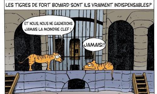 Pétition : Stop à l'exploitation des tigres dans Fort Boyard