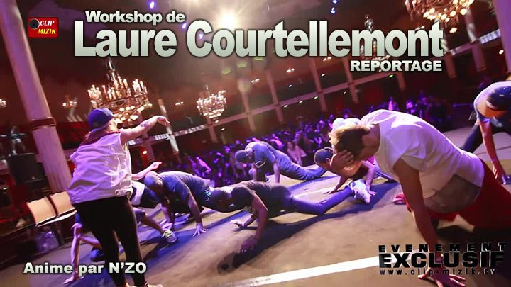 Reportage Workshop de Laure Courtellemont avec Yeya Ekström, Mariel Madrid