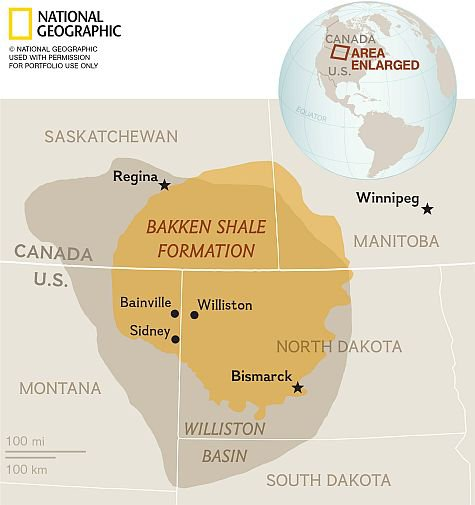 The Bakken Shale: Fracking in North Dakota