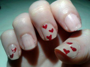 Nail art St Valentin | Passions-Fictions