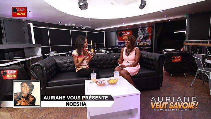 Noesha dans l'émission Auriane veut savoir