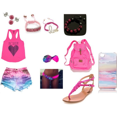 PINK FOR THE BEACH <3