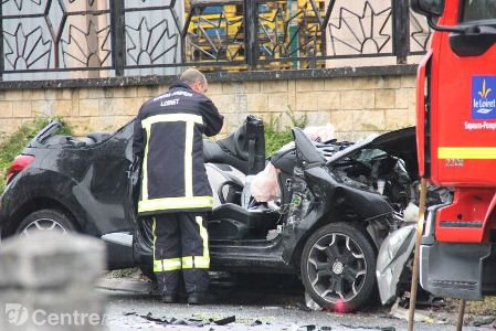 Accident à Sermaises : l'état du jeune conducteur s'améliore