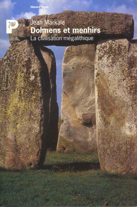 Dolmens et menhirs de Jean Markale
