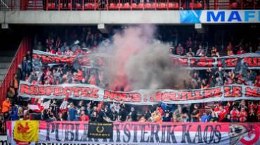 Le PHK et les Ultras Inferno punis par le Standard