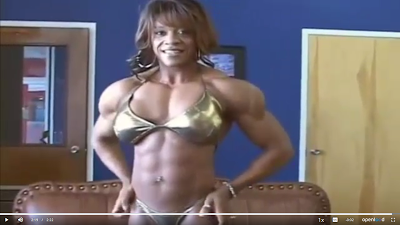 Clip woman bodybuilder with more muscles : - female bodybuilders 24