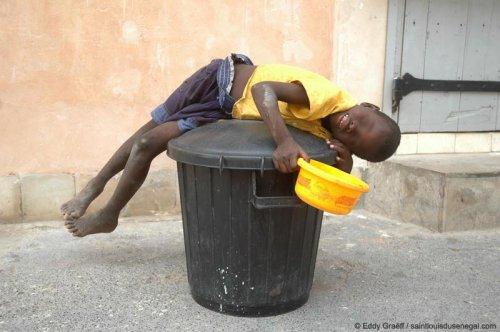 7.800 enfants victimes de la traite des êtres humains au Sénégal.