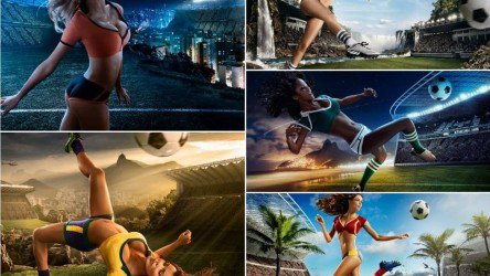 Agência mexicana lança calendário sexy da Copa do Mundo de 2014 com 12 modelos