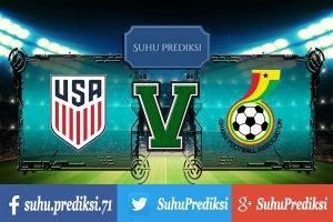 Prediksi Bola Amerika Serikat Vs Ghana 2 Juli 2017