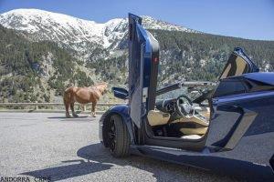 Lamborghini Aventador LP700-4 Roadster VS un cheval-vapeur. 25 photos | ALL ANDORRA